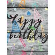Birthday Journal Card 04 3x4