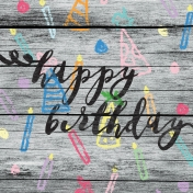 Birthday Journal Card 04 4x4