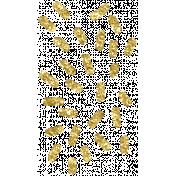 Ice Cream Sprinkles Gold Glitter