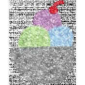 Ice Cream05 Glitter