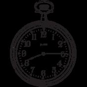 Heritage Stamp Clock06