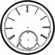 Heritage Stamp Clock07