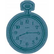 Yesteryear Element Clock