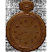 Yesteryear Metal Clock