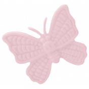 Yesteryear Butterfly Pink