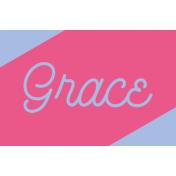 Ramadan Label Grace