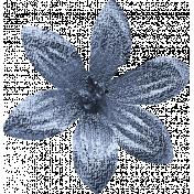 Ramadan Flower Blue