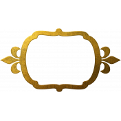 Ramadan Frame Gold