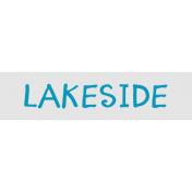 Label Lakeside