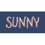 Label Sunny