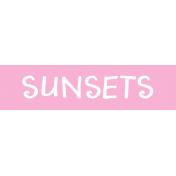 Label Sunsets