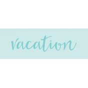 Label Vacation