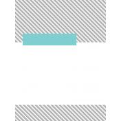 Summer Day Pocket Card 06 3x4