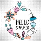 Summer Day Pocket Card 08 4x4