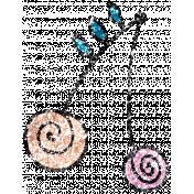 Summer Day Glitter Doodle 10