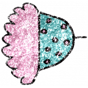 Summer Day Glitter Doodle 13