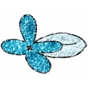 Summer Day Glitter Doodle 14