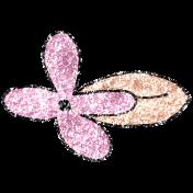 Summer Day Glitter Doodle 14b