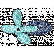 Summer Day Glitter Doodle 14c