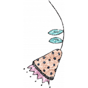 Summer Day Glitter Doodle 16