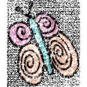 Summer Day Glitter Doodle 4