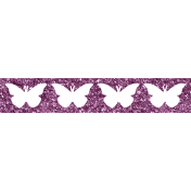 Wildflower Glitter Strip