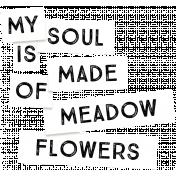 Wildflower Label 3