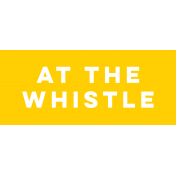 Sports Label At The Whistle