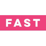 Sports Label Fast