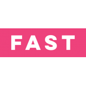 Sports Label Fast