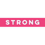 Sports Label Strong