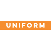 Sports Label Uniform