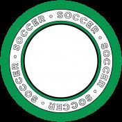 Sports Circle Soccer