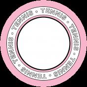 Sports Circle Tennis