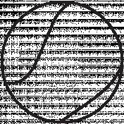 Illustration Tennis Ball Template