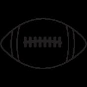 Illustration Football Template