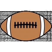 Sports Print Football