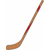 Sports Print Hockey Stick