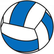 Sports Print Volleyball