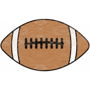 Sports Wood Football