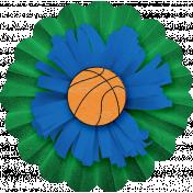Sports Flower Basketball