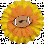 Sports Flower Football