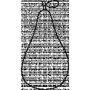 Outline Pear Illustration