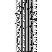 Outline Pineapple Illustration