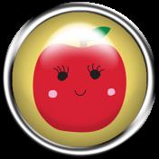 Cute Fruits Flair Apple2