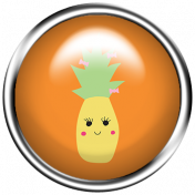 Cute Fruits Flair Pineapple
