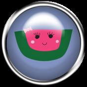 Cute Fruits Flair Watermelon