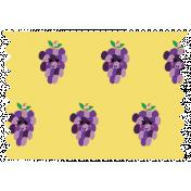 Cute Fruits Washi Grape