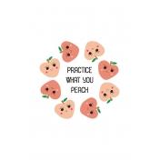 Cute Fruits Art Print 11 4x6