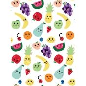 Cute Fruits Art Print 13 3x4